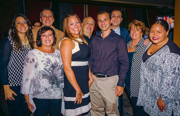 Columbus Day Celebration Committee (L-R) Maria Puopolo, Carla D'Orio, Aaron Michlewitz, Laurie Strazzullo, Sal Diecidue, Louis Strazzullo, Anthony Petruccelli, Therese Diecidue and Maria Lanza