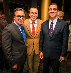 Representing the North End, (L-R), City Councilor Sal LaMattina, State Representative Aaron Michlewitz and State Senator Anthony Petruccelli
