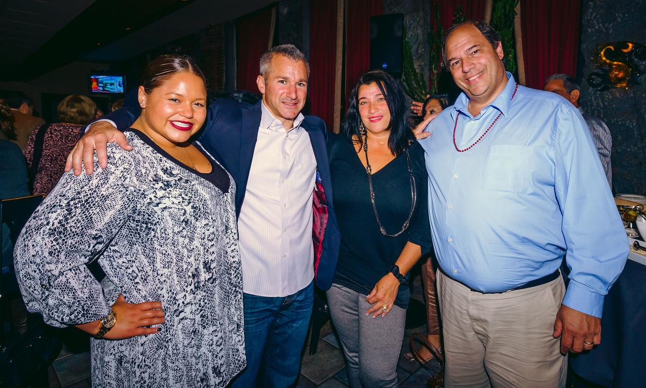 (L-R) Maria Lanza, Stephen Passacantilli, Karen D