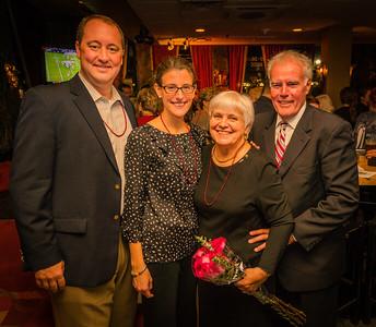 The Gannon Family celebrating Francine Gannon Day