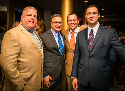 (L-R) Michael Magner, Sal LaMattina, Aaron Michlewitz and Anthony Petruccelli