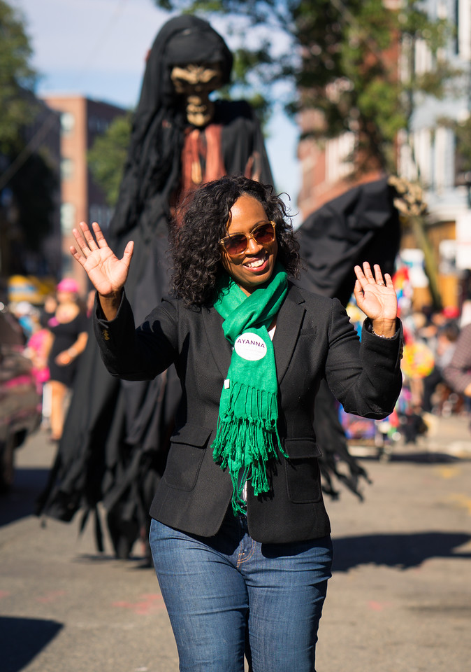 City Councilor at Large, Ayanna Pressley