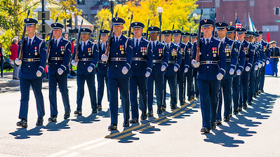 US Air Force cadets
