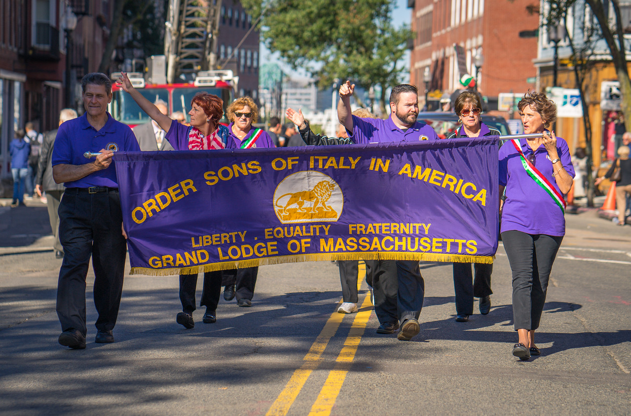 Order Sons of Italy in the North End Christopher Columbus Parade