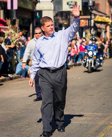 Boston Mayor Martin J. Walsh, Grand Marshall