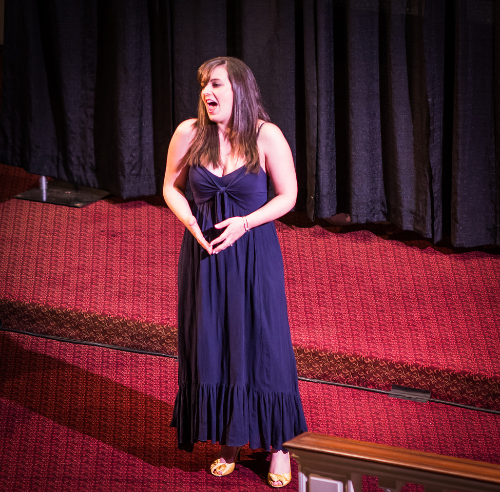 NEMPAC Singer at Italy American Style concert