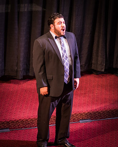 Salvatore Atti sings opera at the Italy - American Style concert