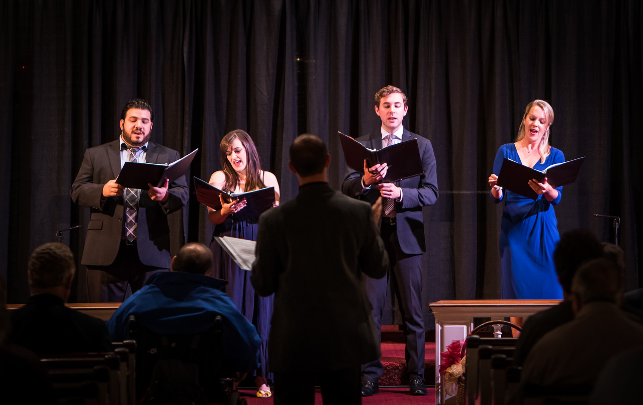NEMPAC Singers at Italy American Style - St. Stephen