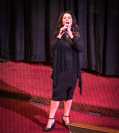 Sharon Z sings at Italy American Style