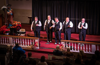 Street Magic sings favorites at St. Stephen's Church
