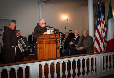Fr. Claude speaks about honoree Al Natale