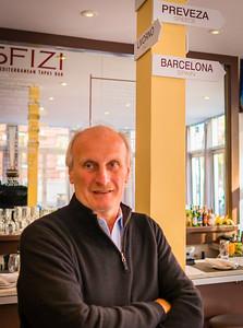 Restauranteur Frank DePasquale at Sfizi
