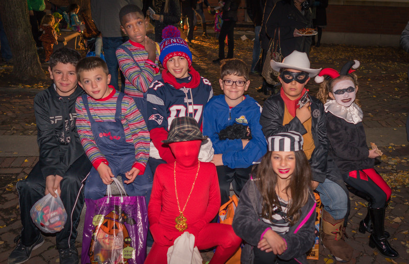With Halloween on Saturday this year, kids had a full day of Trick or Treating before the big party on the Prado