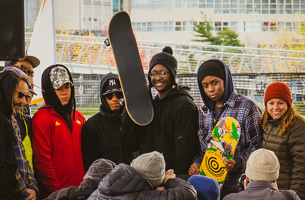 Vans gave out skateboard awards