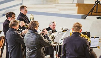 Boston Landmarks Orchestra provided music at the skatepark opening