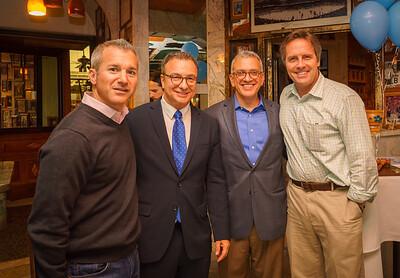 (L-R) Stephen Passacantilli, Sal LaMattina, Paul Scappicchio, Sean Hennessey