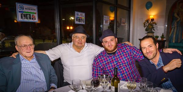 Mike D'Amato, Johnny 'Shoes' Cammarata, Ralph Verrocchi and David Marx