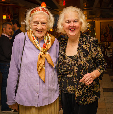 Rosemary McAuliffe and Michele Morgan