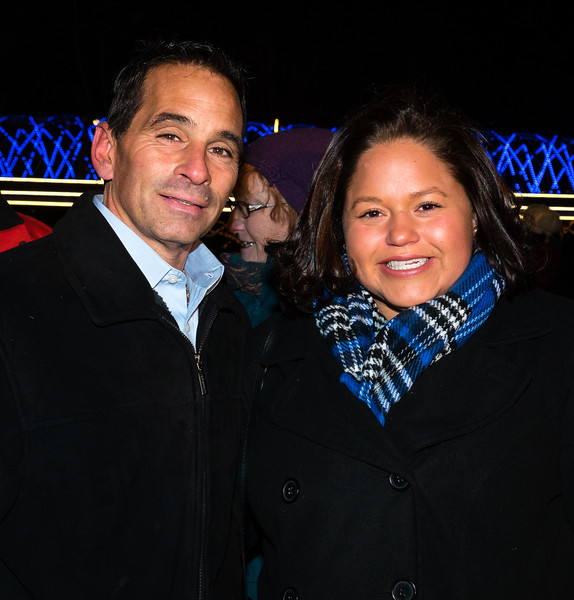FOCCP Board Member Joe Bono and Mayor's ONS Maria Lanza