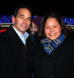 FOCCP Board Member Joe Bono and Mayor's ONS Maria Lanza
