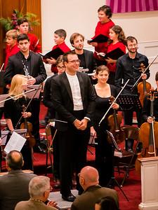 Kristo Kondakci of the Boston Landmarks Orchestra conducted Handel's Messaih (Part 1)
