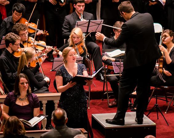 Emily Tweed, Soprano soloist