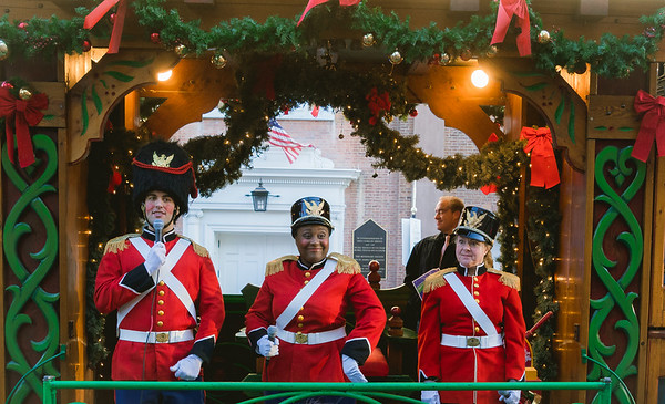 Toy Solders on the Trolley Tour