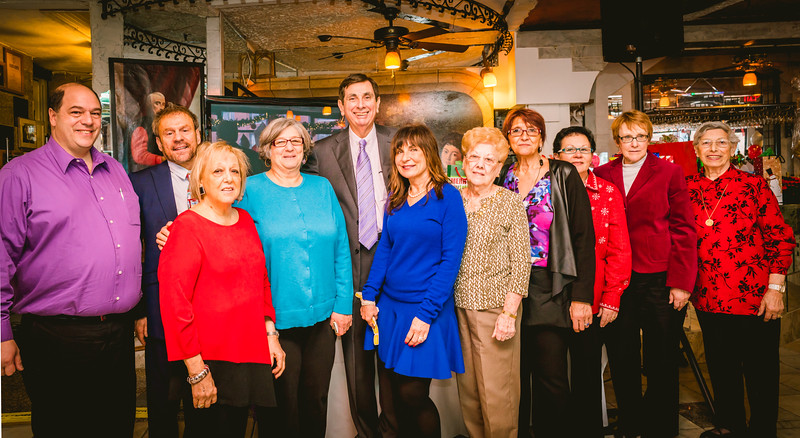 Organizing committee of the North End Christmas Fund Luncheon