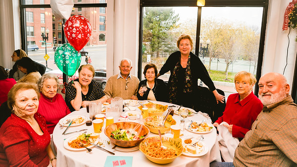 North End residents gather at the luncheon