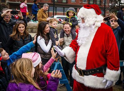 Everyone loves Santa