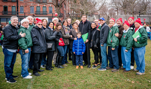 NEAA, sponsors and organizers of the North end Christmas Parade