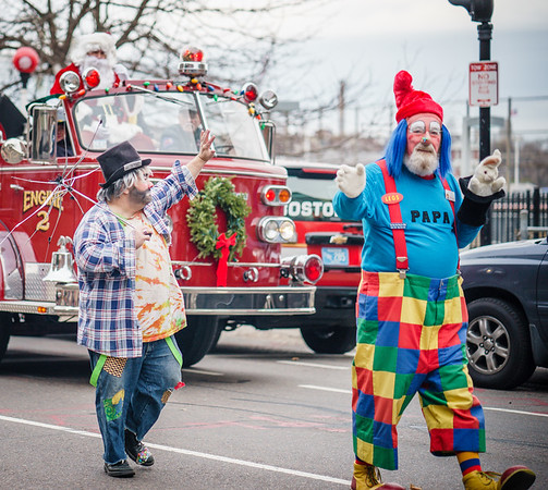 Parade clowns