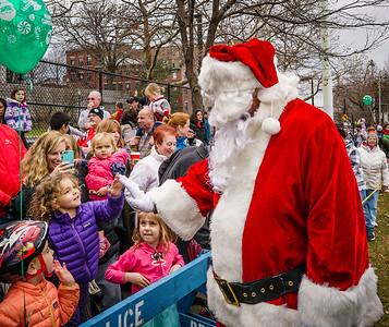 Kids love Santa
