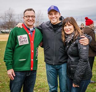 Sal LaMattina, Aaron Michlewitz and Kathy Carangelo