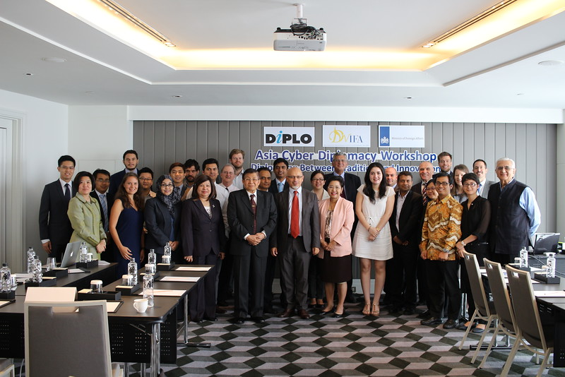 Asia Pacific Cyberdiplomacy Workshop Photo