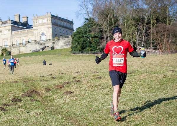 British Heart Foundation:  Harewood House Half Marathon