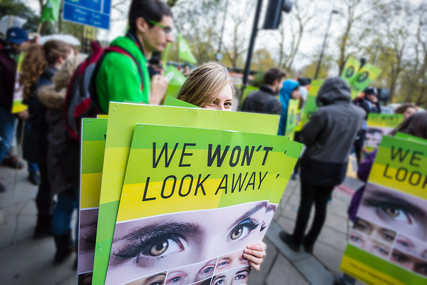 Climate March 2015 with Oxfam