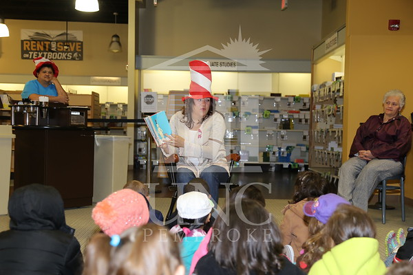 Dr. Suess/Theodore Geisel Birthday Reading
