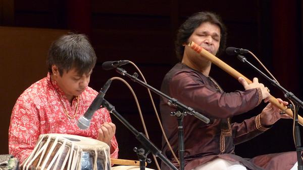 Rakesh Chaurashia and Shashank Subramanyam at Rozsa Center April 12,2015