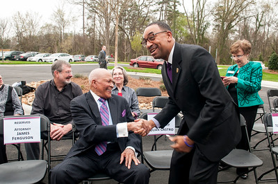 Honorable Charlie Dannelly Ribbon Cutting of The Dannelly At The Catawba 4-2-15