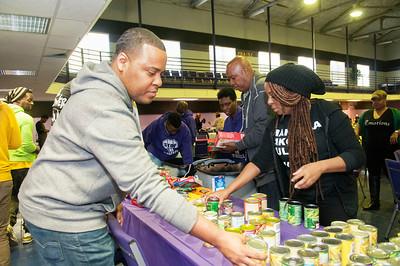 Homeless Senior Citizen Feeding @ Hope For Harvest 11-25-15