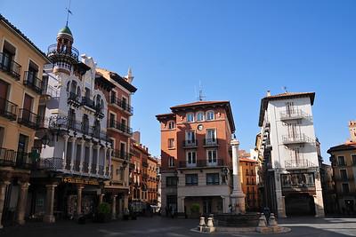 Teruel with its beautiful Mudéjar architecture
