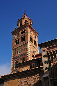 Teruel with its beautiful Mudéjar architecture