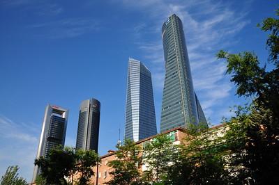 Cuatro Torres in Madrid