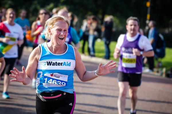 Royal Parks Half Marathon with Water Aid