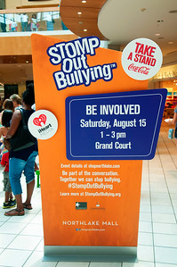 STOMP Be Involved @ Northlake Mall 8-15-15