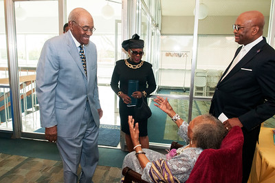 Ms Sara B Stevenson 90th Birthday Celebration @ JCSU 10-25-15
