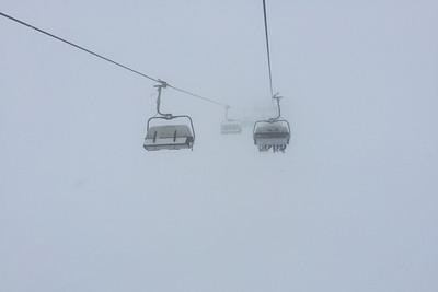 Morning clouds at St Anton am Arlberg