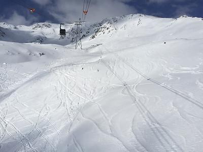 Skiing at Sölden in the Oetztal