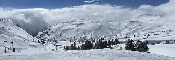 Skiing at Lech am Arlberg